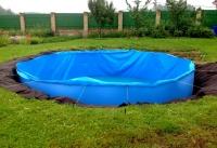 Особенности  по монтажу  заглубленных бассейнов.