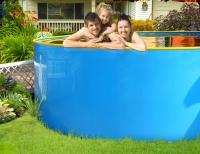 Супер выгодный комплект бассейн пластиковый каркасный 3.4х1.25м
