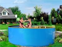 Супер выгодный комплект бассейн пластиковый каркасный 4.0х1.25 м