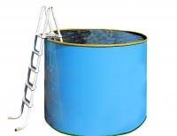 Купель пластиковая разборная 1.7х1.0м