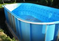 Бассейн овальный чаша 5,0*2,5*1,5