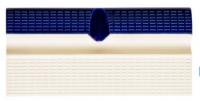 Плитка бордюрная с рукохватом и водостоком AquaViva