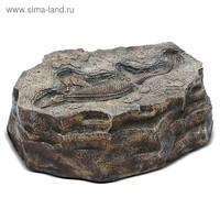 """Садовая фигура """"Камень с ихтиозавром"""""""
