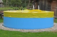 Тент-укрытие овальный 4,8х2,4