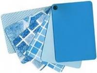 Пленка ПВХ синяя (Urdike),голубая (France) CEFIL